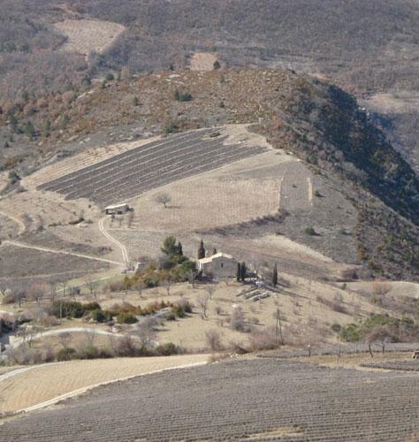 Photographie paysage de l'Abbaye de Bodon